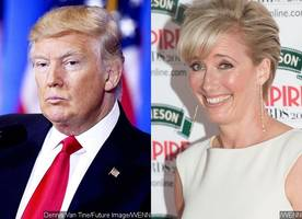 Donald Trump Once Asked Emma Thompson Out for a Date and She Turned Him Down