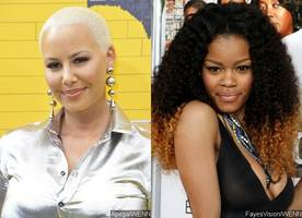 Is Amber Rose Into a Woman Now? Model Sparks Rumors She's Hooking Up With Teyana Taylor