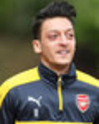mesut ozil suffers new injury on international duty: arsenal star could miss man city game
