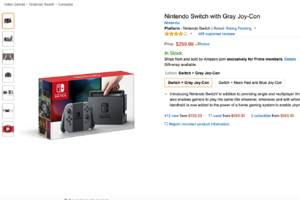 Amazon is using the Nintendo Switch as the latest piece of bait for Prime memberships