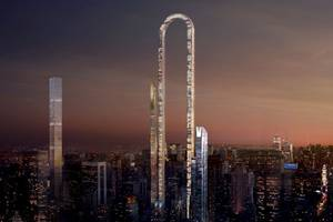 clippy looms over manhattan in this building design proposal