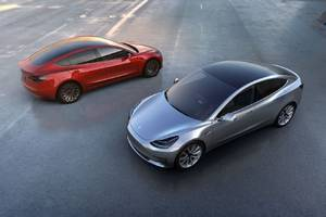 Elon Musk hints that the Tesla Model 3 will have more range than the Chevy Bolt