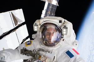 Watch astronauts spacewalk today to get the station ready to receive private crew vehicles