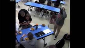 Heimlich hero: Video captures student saving choking friend's life