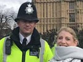 London Attack: Keith Palmer snapped hours before dying