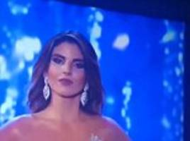 Miss Colombia wannabe not happy with second place