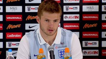 england v lithuania: eric dier reveals his ambitions to be captain