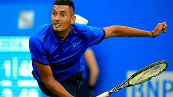 aegon championships: nick kyrgios joins murray and nadal in queen's club line-up