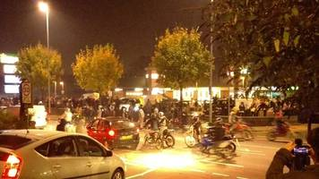 bikers charged over leeds halloween 'ride out'