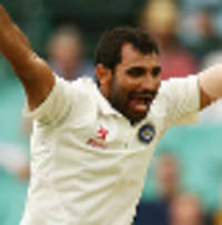 shami fit to play the fourth test