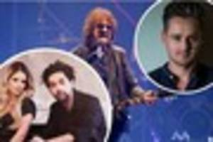 jeff lynne's elo support acts for kcom stadium hull performance...