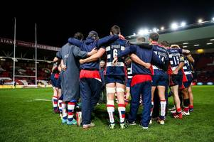 as bristol rugby slip to the verge of relegation after gloucester loss, mark tainton admits: 'we weren't good enough'