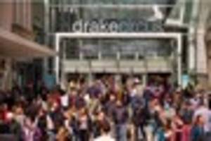 It's official - Drake Circus mall is UK's top shopping centre
