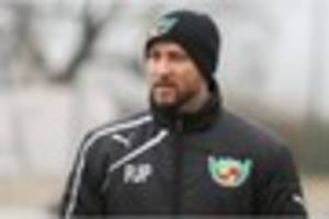 Nantwich Town boss Phi Parkinson looks ahead to a 'big week' for...