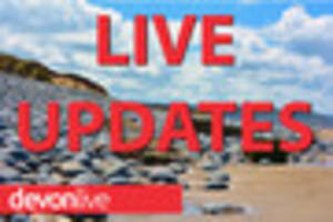 Live Devon traffic, travel and news updates for Friday March 24