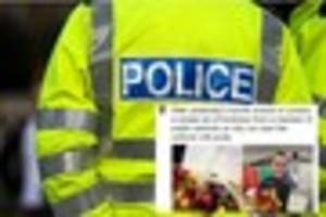 Devon & Cornwall police officers thanked in touching gesture...