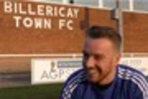 Jamie O'Hara: Watch as new Billericay Town signing  chats about...