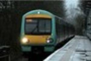 Southern delays due to a trespasser on the line between Purley...