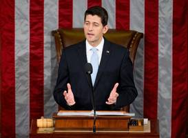 The Latest: Ryan heads to White House to discuss health care