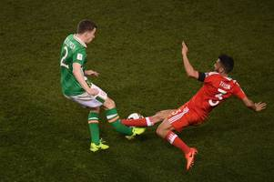 everton defender seamus coleman facing lengthy spell on sidelines after horror injury during ireland vs wales