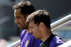 Lionel Messi masters Claudio Bravo as Argentina star continues to carry weight of a nation on his shoulders - Graham Hunter