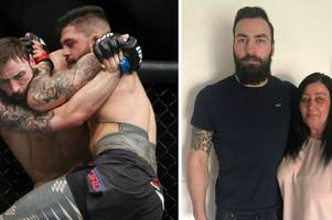 mum of airdrie ufc star paul craig happy she wasn't at first loss - because she might have jumped in the cage