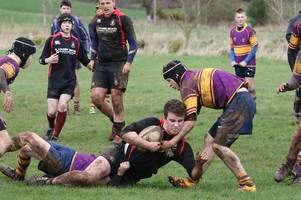 Stewartry under-16s narrowly miss out on Chairman's Trophy final place with 14-12 defeat to Marr