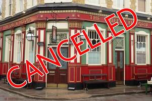 why is eastenders cancelled again? viewers fury as bbc scrap friday night's episode