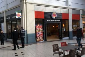 diner's anger at racist language in rap song played at burger king branch