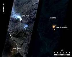 AI helps capture a volcano's changing lava lake