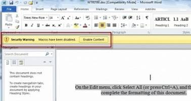 microsoft word document used to infect both windows and macos with malware
