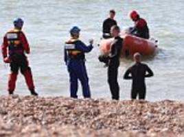 Body found after man was swimming naked off Brighton beach