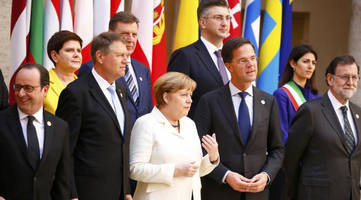 eu celebrates 60th birthday as european leaders scramble to hold fraying union together