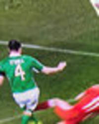 gareth bale slammed for this post-match interview after horror tackle on john o'shea