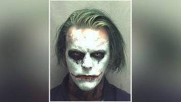 'Joker' with sword arrested in Virginia for wearing a mask