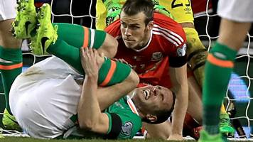 john o'shea: republic star feels 'lucky' to avoid serious injury from bale tackle