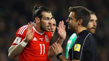 gareth bale: wales boss chris coleman defends forward in ill-tempered draw