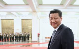 china's president xi xinping claims to be free trade champion again