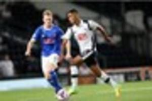 derby county: rams defender max lowe stars for england