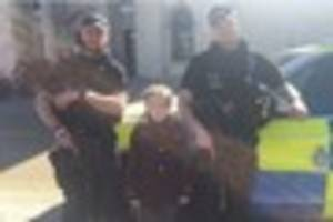 Armed police officers spotted in Queen Victoria Square to...
