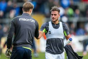 Jonny Burn is ready make his first start for Bristol Rovers if called upon against Coventry City