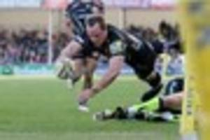 exeter chiefs 30 sale sharks 25: match report - exe struggle past...