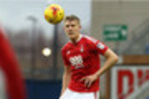loan spell in league two was vital admits nottingham forest...