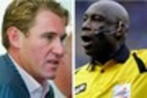 ex premier league referee joins twitter...and immediately has...