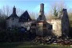 Fundraising page set up for Mells family after house burns down...