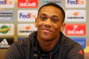 Manchester United star Anthony Martial praises Old Trafford fans for sticking with him