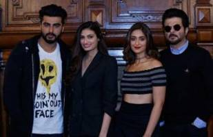 Team Mubarakan Indulge In A Light-Hearted Press Conference In London