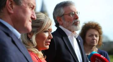 sinn fein 'will not nominate' for new administration at stormont