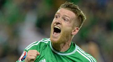 steve davis named northern ireland player of the year