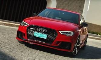 2018 Audi RS3 Sedan Is a 2.5L Turbo Practical Rocket, Says Review
